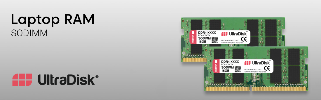 UltraDisk Laptop Memory