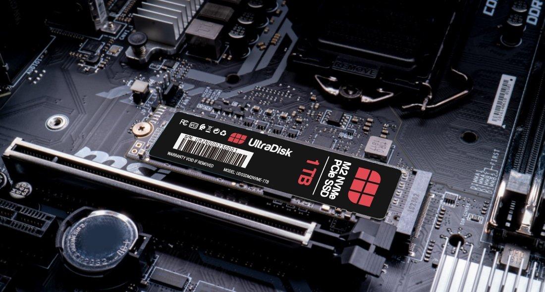 UltraDisk SSD M.2 NVMe PCIe